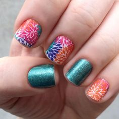 GONE - Jamberry Nail Wraps - have  (Punchy Puff)
