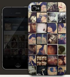 Turn instagram photos into an iPhone case! Great gift idea. $34.95
