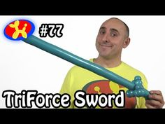 TriForce Sword - Balloon Animal Lessons # 77 - YouTube