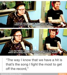 Apparently they released Centuries before they had a concept for AB/AP and Patrick was literally like WE DONT HAVE AN ALBUM<<that is the best thing Ive ever heard<<< omg yes
