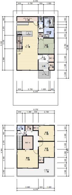 30坪 間取り Floor Plants, Tiny House, Flooring, How To Plan, Architecture, Interior, Arquitetura, Indoor, Tiny Houses