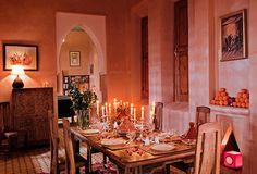 Traditional #diningroom in a luxury villa in #marrakech, #morocco !