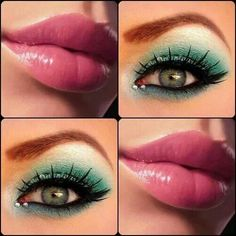 Perfect combination of makeup