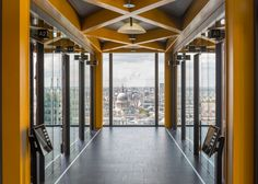 Rogers Stirk Harbour + Partners hands over the Leadenhall Building for fit out.