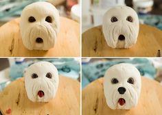 Making Of the Dog´s Face – Haciendo la Carita del Perro | Ligia De Santis Delights