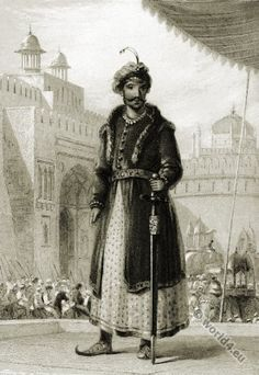 Muhammad Humayun second ruler of the Mughal Empire. Rare Photos, Old Photos, Archaeological Survey Of India, History Of India, Asian History, British History, Famous Portraits, Asian Art Museum, Vintage India
