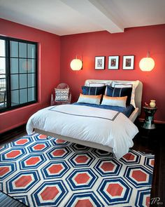 Coral And Navy Design Ideas, Pictures, Remodel, And Decor   Page 2