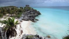 """Tulum Ruins. Tulum, Mexico. """"5 Great Adventures in the Yucatan Peninsula.""""  http://www.tourist2townie.com/travel-info/tulum-culture-and-beautiful-beaches-on-the-coast-of-mexico/"""