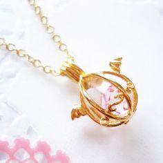 Angelic Dragon's Egg Necklace - Gold at shanalogic.com
