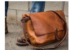 Broen leather bag