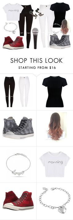 """My band outfits"" by nialls-wife1 on Polyvore featuring TIBI, Converse, WithChic and West Coast Jewelry"