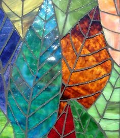 Leaves Mosaic Close Up 2 | Flickr - Photo Sharing!