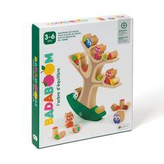 Jeu de société l'arbre d'équilibre Badaboom Oxybul pour enfant de 3 ans à 6 ans - Oxybul éveil et jeux