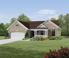 ePlans Traditional House Plan – Inviting Ranch– 1580 Square Feet and 3 Bedrooms from ePlans – House Plan Code HWEPL76150
