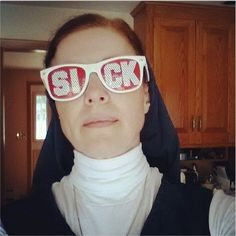The Nun Who Got Addicted to Twitter (The Atlantic) Quotation from the article:  It's about being a normal, 21st-century American who Instagrams silly selfies and tweets about Noah, sharing tiny bits of an everyday life. But it's also about using every means available to reach people with the word of Christ, incorporating God into every part of life. This, Burns says, is how the work of modern evangelization is done.