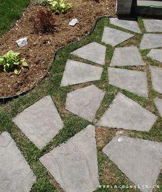 Flagstone Walkway Design Ideas wash off stones Curb Appeal Flagstone Walkway Plant Elfin Thyme In Between The Stones