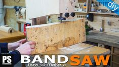 Plywood Band Saw Tips / Set Up