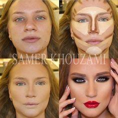 el poder del maquillaje! !