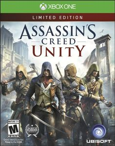 Assassin's Creed Unity from Ubisoft is a third-person, open-world exploration game. The majority of the game takes place during the French Revolution and players take on the role of Arno Dorian. Arno Dorian, Assassins Creed Unity, Assassin's Creed Chronicles, The Assassin, Wii, Xbox One Games, Ps4 Games, Playstation Games, Games Consoles