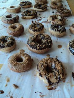 Vegan or not, baked speculoos cookie butter donuts?!!! Please. You don't have to ask us twice. #NationalDonutDay ^aw