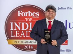 Forbes Middle East honors Mr. Dilip Rahulan as one of the Top Indian Leaders in the Arab World.