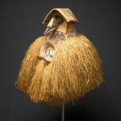 Yaka Bandundu Province, Democratic Republic of the Congo, Mask (Kholuka or Mbala)