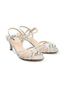 Harper two part mid heel sandals