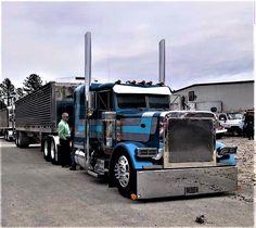 Millions of Semi Trucks Peterbilt 379, Peterbilt Trucks, Lifted Ford Trucks, Jeep Truck, Big Rig Trucks, Dump Trucks, Cool Trucks, Big Ride, Freight Truck
