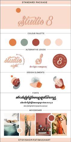 Logo Vintage, Vintage Branding, Logo Biologique, Branding Kit, Branding Design, Logos Photography, Organic Logo, Organic Brand, E Commerce