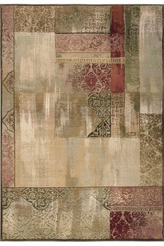 New Country Area Rug - Contemporary Rug - Floor Covering - Area Rugs | HomeDecorators.com