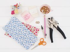 Need a Liberty print wedding project? Find out how to make a Liberty print lucky sixpence bag