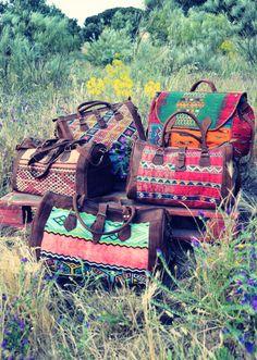 Bolsos kilim El Mercado de la Vida