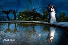 Our lovely Eden project wedding.