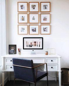 Instagram grid in our Richmond frame