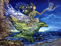 new ideas mother nature goddess tattoo josephine wall Josephine Wall, Georges Chelon, Cool Artwork, Les Oeuvres, Wonders Of The World, Mother Nature, Mother Earth, Surrealism, Fantasy Art