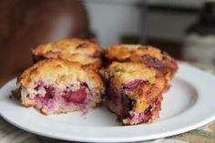 Apple & Blackberry Muffins