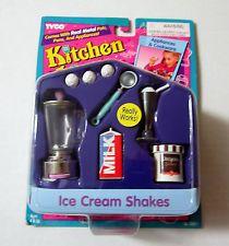 Barbie Kitchen Littles Ice Cream Shakes