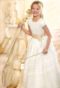 Vestidos de comunión 2013: modelo Amapola de El Corte Inglés