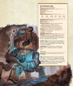 Dnd Stats, Sneak Attack, Dnd 5e Homebrew, Dnd Monsters, Dungeons And Dragons Homebrew, Legendary Creature, Magic The Gathering Cards, Fantasy Character Design, Fantasy Creatures