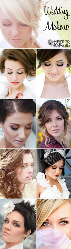Wedding makeup via blog.hairandmakeupbysteph.com