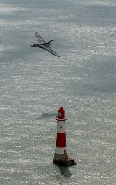 Shivers. Down. Spine XH558 on her Beachy Head approach Stunning pic by © Robin Pettifer / RP Aviation Images