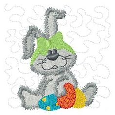 FREE EASTER BASKET PROJECT - Free machine embroidery designs - Kreative Kiwi saved to my ITH disc