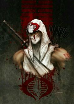 cartoons logos storm shadow gi joe by johngiang on deviantART Comic Book Characters, Comic Character, Comic Books Art, Comic Art, Arte Ninja, Ninja Art, Dojo, Snake Eyes Gi Joe, Science Fiction