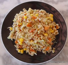 A light alternative to classic Chinese fried rice. https://www.theveggietable.com/blog/vegetarian-recipes/appetizers-side-dishes/unfried-rice/
