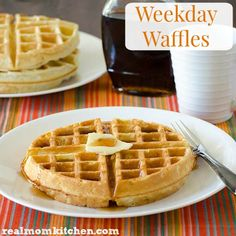 Weekday Waffles | re