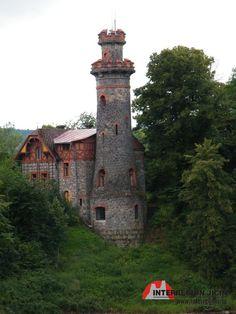 Přehrada - Les Království Czech Republic, Tower, Mansions, History, House Styles, Building, Castles, Travelling, Count