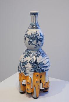 """Brendan Lee Satish Tang is a Canadian artist that creates really unique ceramic sculptures.""     Artists, Brendan Lee, design, art, contemporary art, contemporary design.   check out more contemporary art at http://www.bocadolobo.com/en/inspiration-and-ideas/"