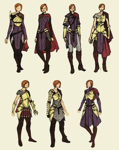 """Leliana concept art in The Art of Dragon Age: Inquisition"""
