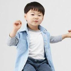 송 triplets - bts of Duolac Probiotic CF Cute Asian Babies, Korean Babies, Asian Kids, Cute Babies, Superman Baby, Little Babies, Baby Kids, Song Il Gook, Man Se