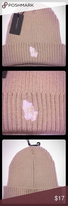 """Official Bascom Project """"Prayer Hands"""" beanie Dope Prayer hands beanie in oatmeal color brand new never worn w Tags one size fits all Accessories"""